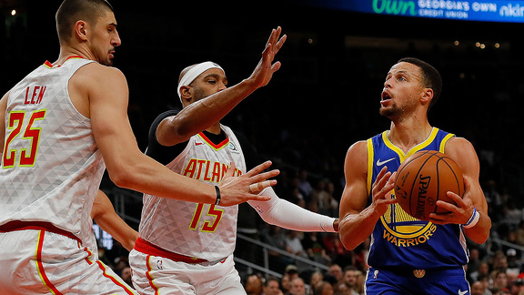 Verizon Game Rewind: Warriors 128 - Hawks 111