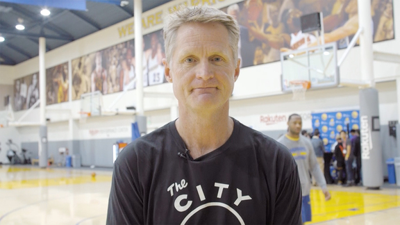 Steve Kerr On Team's Sportsperson Of The Year Award