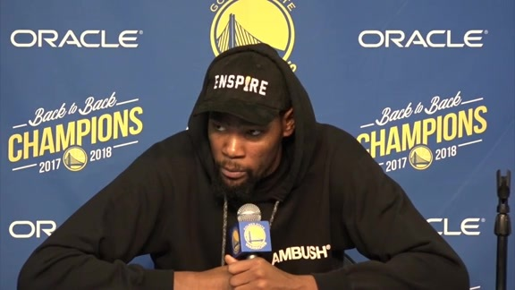 Postgame Warriors Talk: Kevin Durant - 12/10/18