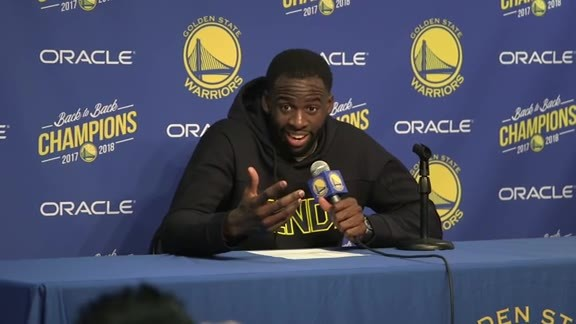 Postgame Warriors Talk: Draymond Green - 12/10/18