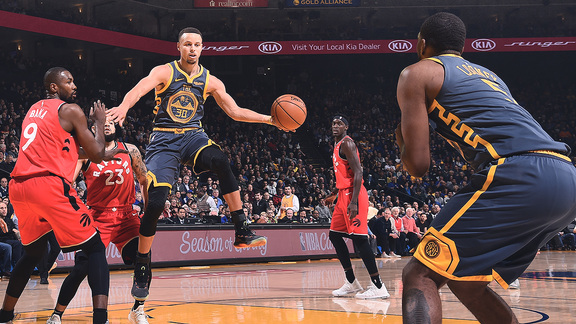 Verizon Game Rewind: Raptors 113 - Warriors 93