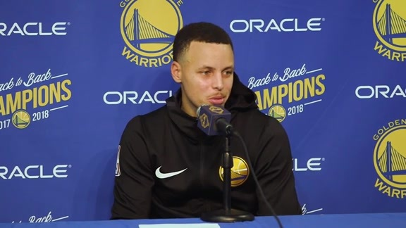Postgame Warriors Talk: Stephen Curry - 12/12/18
