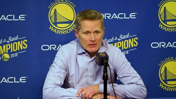 Postgame Warriors Talk: Steve Kerr - 12/13/18