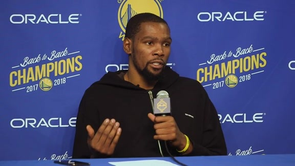 Postgame Warriors Talk: Kevin Durant - 12/12/18