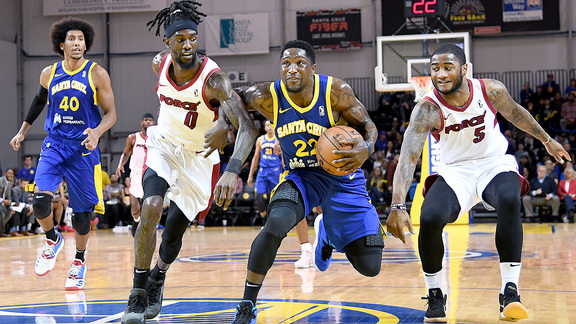 Santa Cruz Warriors Highlights: Sea Dubs Lift Off
