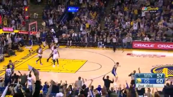 Klay with the Trey