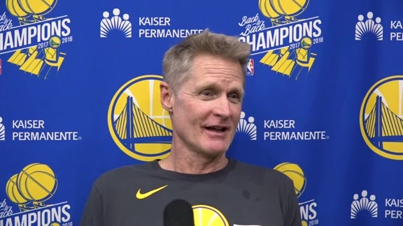 Warriors Talk: Steve Kerr 12/16/18