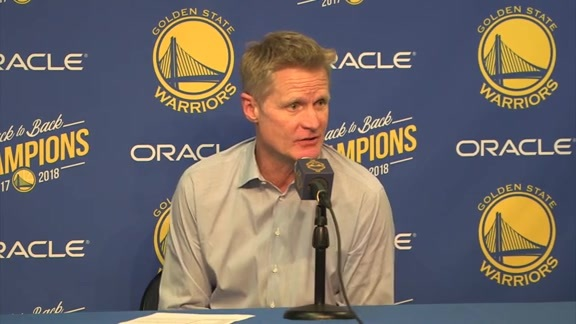 Postgame Warriors Talk: Steve Kerr - 12/17/18