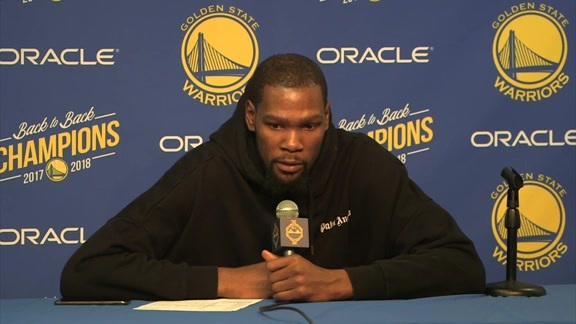 Postgame Warriors Talk: Kevin Durant - 12/17/18