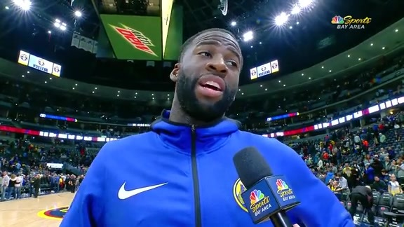 Postgame Warriors Talk: Draymond Green - 1/15/19 (NBCSBA)