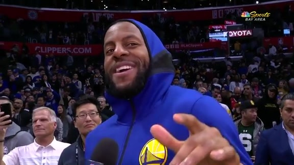 Postgame Warriors Talk: Andre Iguodala - 1/18/19