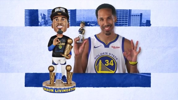 Shaun Livingston Breaks Down his Bobblehead