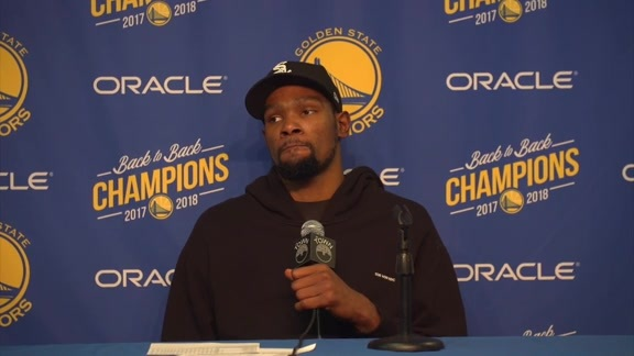 Postgame Warriors Talk: Kevin Durant - 2/23/19