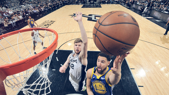 Verizon Game Rewind: Warriors 105 - Spurs 111