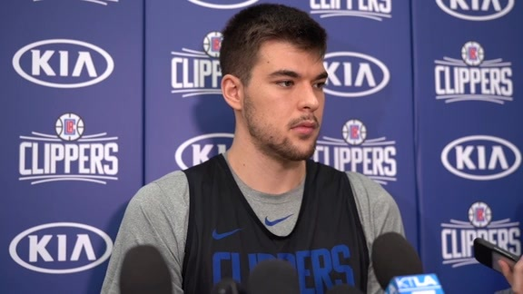 Clippers Practice: Ivica Zubac - 4/20/19