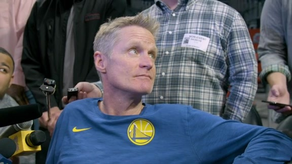 Warriors Talk: Steve Kerr - 4/20/19