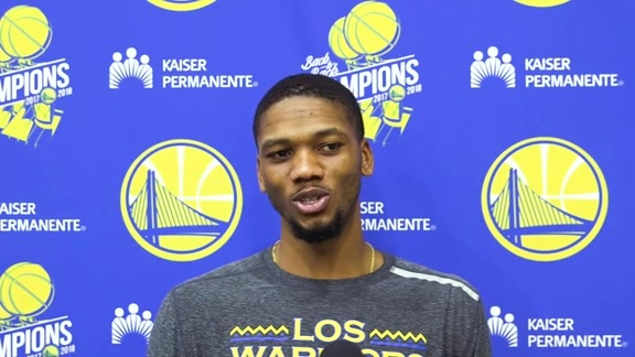 Warriors Talk: Alfonzo McKinnie - 4/23/19