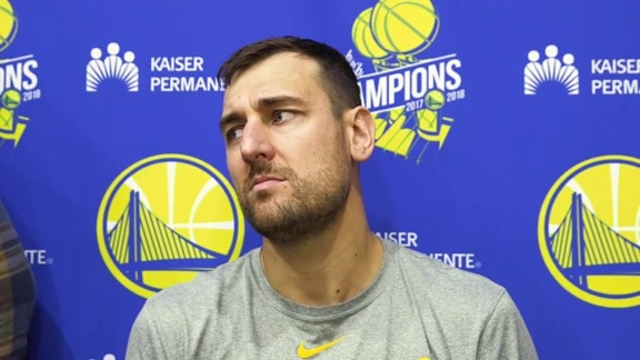 Warriors Talk: Andrew Bogut - 4/23/19