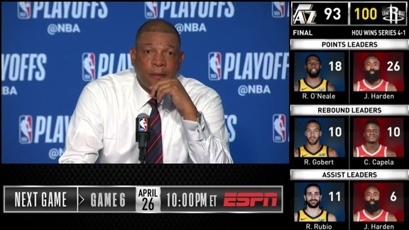 Clippers Postgame: Doc Rivers - 4/24/19