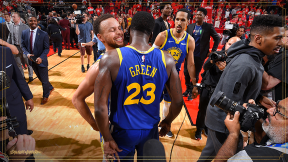 By the Numbers: Warriors Ground the Rockets