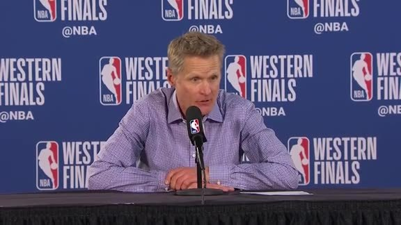 Postgame Warriors Talk: Steve Kerr - 5/20/19