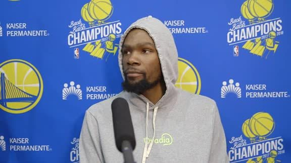Warriors Talk: Kevin Durant - 5/24/19