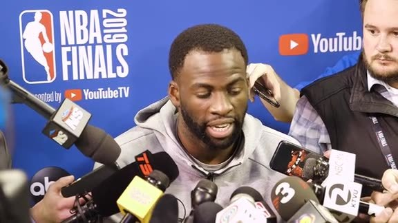 Warriors Talk: Draymond Green - 6/12/19
