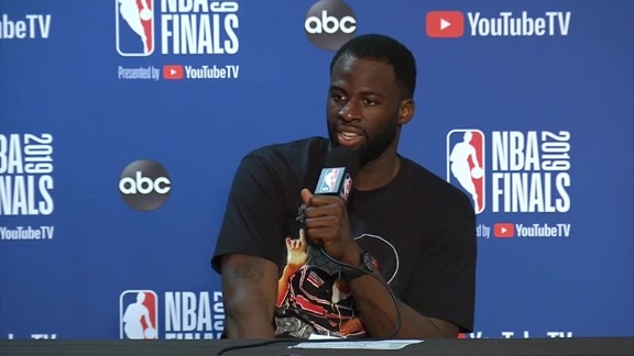 Postgame Warriors Talk: Draymond Green - 6/13/19