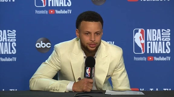 Postgame Warriors Talk: Stephen Curry - 6/13/19