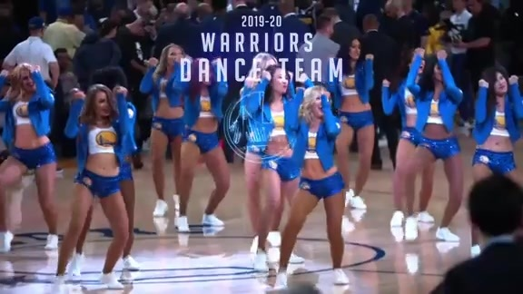 Warriors Dance Team Auditions Coming Up