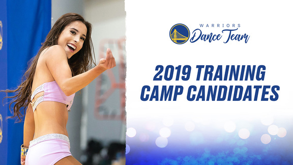 2019-20 Warriors Dance Team Training Camp Candidates