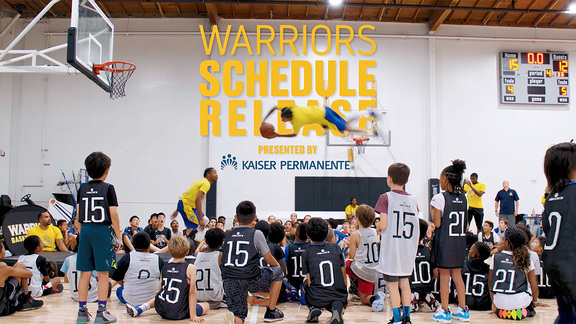 Warriors 2019-20 Schedule Release
