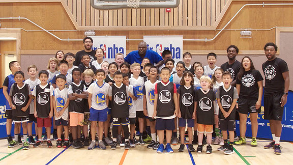 Warriors Basketball Camp: Week of August 12-16, 2019