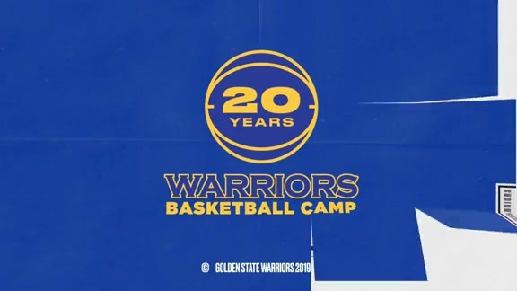 Former Warrior Otis Smith at Warriors Basketball Camp