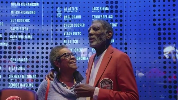 Warriors All-Access: Al Attles Enshrined in the Naismith Memorial Basketball Hall of Fame