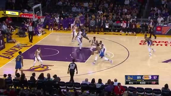 Highlights: Warriors at Lakers - 10/14/19