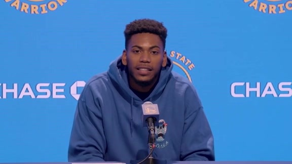 Postgame Warriors Talk: Glenn Robinson III - 10/18/19
