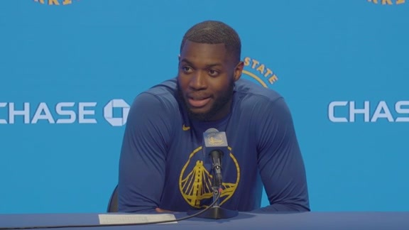 Postgame Warriors Talk: Erics Paschall - 10/18/19