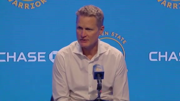 Postgame Warriors Talk: Steve Kerr - 10/18/19