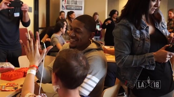 NBA Cares Day of Service at Children's Hospital L.A.