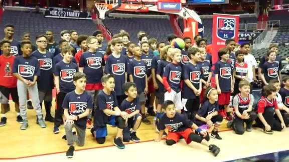 Jr. Wizards Gameday Clinic - 2/23/18
