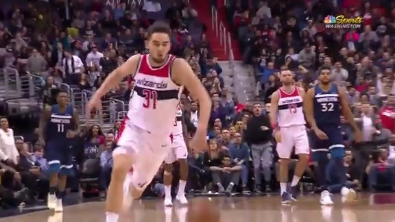Highlights: Wizards vs. Wolves - 3/13/18