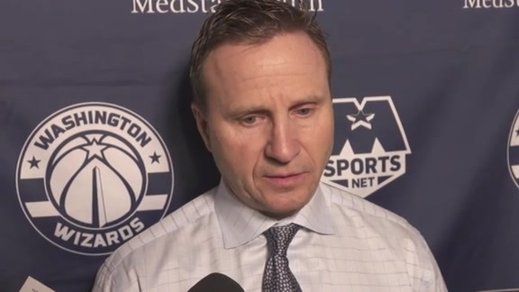 Coach Brooks Postgame @ SAS - 3/21/18