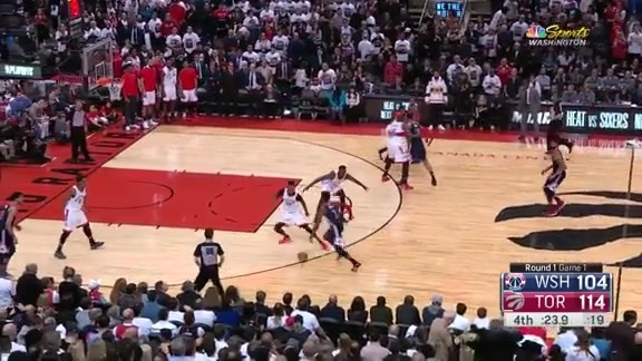 Wall's Game 1 Highlights - 4/14/18