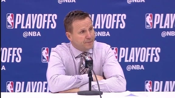 Scott Brooks Postgame Podium (Game 3) - 4/20/18