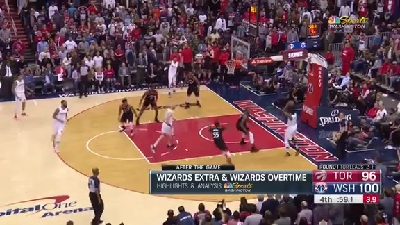 Wall's Game 4 Highlights #WizRaptors