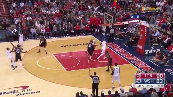 Highlights: Wizards vs. Raptors Game 4 - 4/22/18