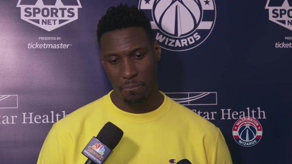 Ian Mahinmi Exit Interview 2018