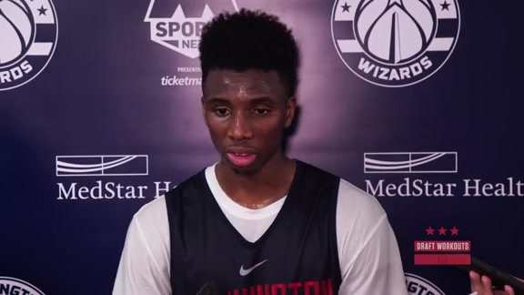 Hamidou Diallo Pre-Draft Interview - 5/22/18