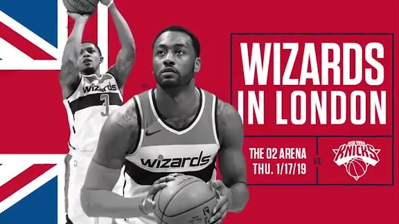 Wizards to play in London in January